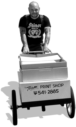 JOHN REAM FROM TEAM PRINT SHOP