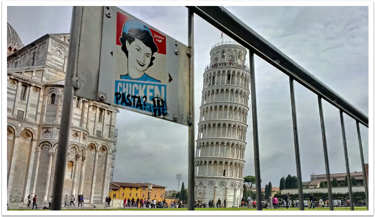 Chicken Or Pasta? – Jotopia in Pisa