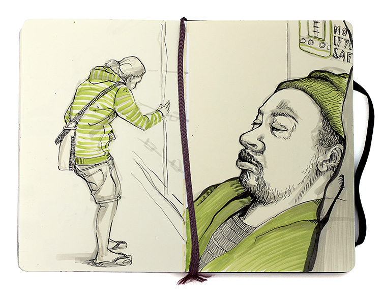 SKETCHBOOK FROM CHICAGO JOTOPIA